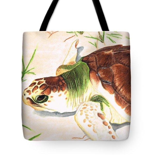 Sea Turtle Art By Sharon Cummings Tote Bag by Sharon Cummings