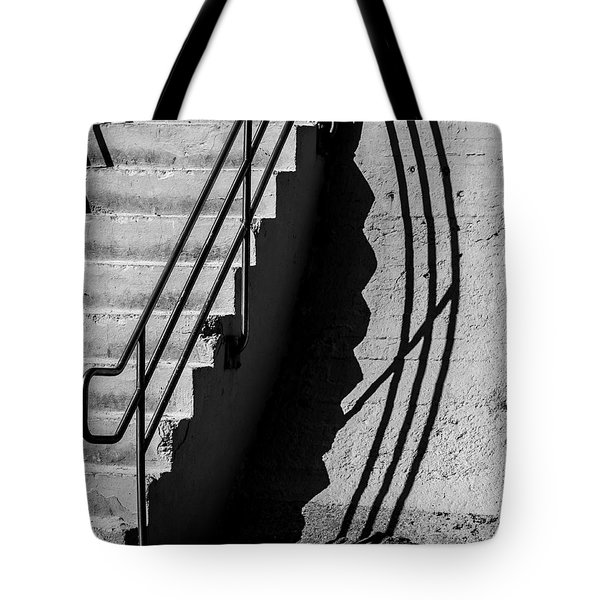 Sea Wall Shadow Tote Bag by Perry Webster