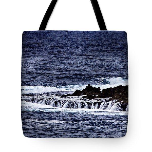 Sea Waterfall Tote Bag by Douglas Barnard
