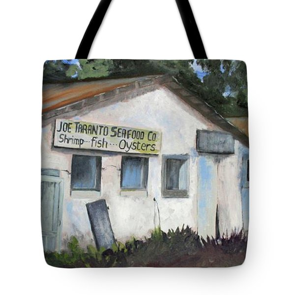 Seafood House Apalach Tote Bag by Susan Richardson