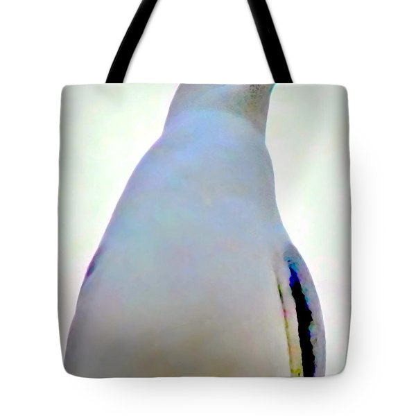 Seagull Close Up View Tote Bag by Danielle  Parent