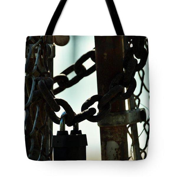 Sealed Tote Bag by Rebecca Sherman