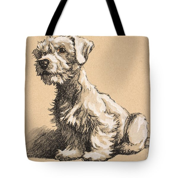 Sealyham Tote Bag by Cecil Charles Windsor Aldin