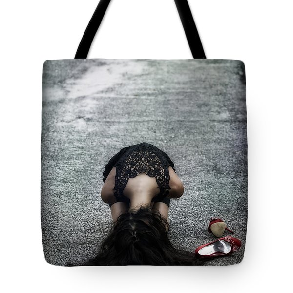Searching For Protection Tote Bag by Joana Kruse