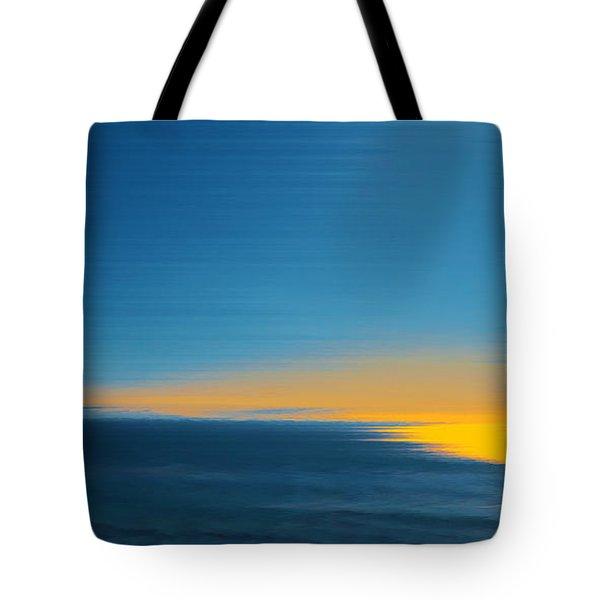 Seascape At Sunset Tote Bag by Ben and Raisa Gertsberg