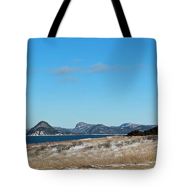 Seascape - Panorama Tote Bag by Barbara Griffin