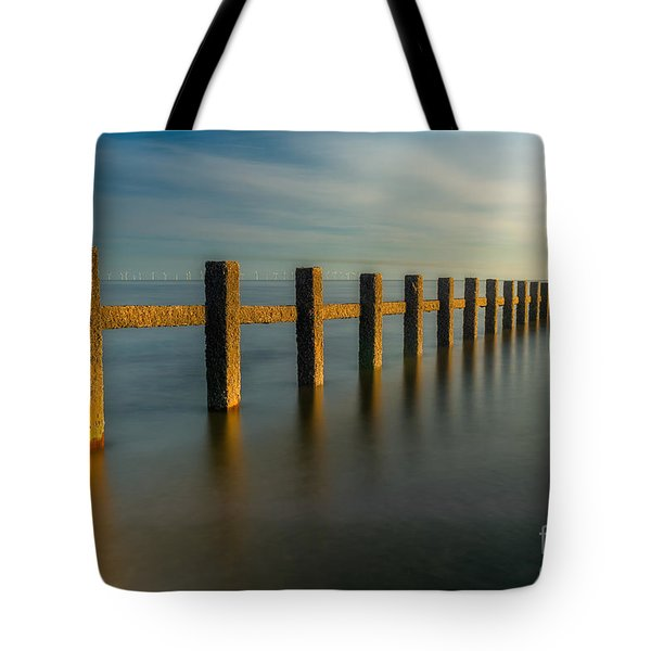 Seascape Wales Tote Bag by Adrian Evans