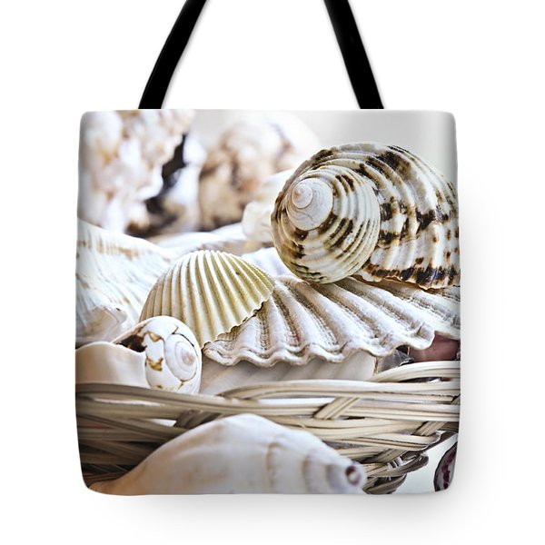 Seashells Tote Bag by Elena Elisseeva