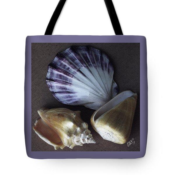 Seashells Spectacular No 30 Tote Bag by Ben and Raisa Gertsberg