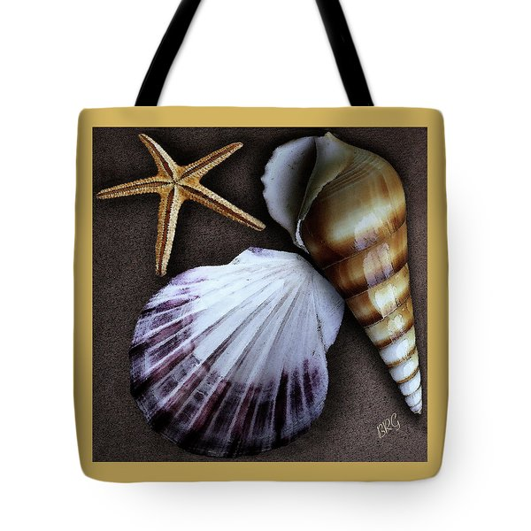 Seashells Spectacular No 37 Tote Bag by Ben and Raisa Gertsberg