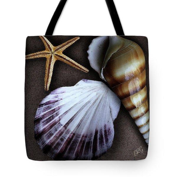 Seashells Spectacular No 37 Tote Bag by Ben and Raisa Gertsberg