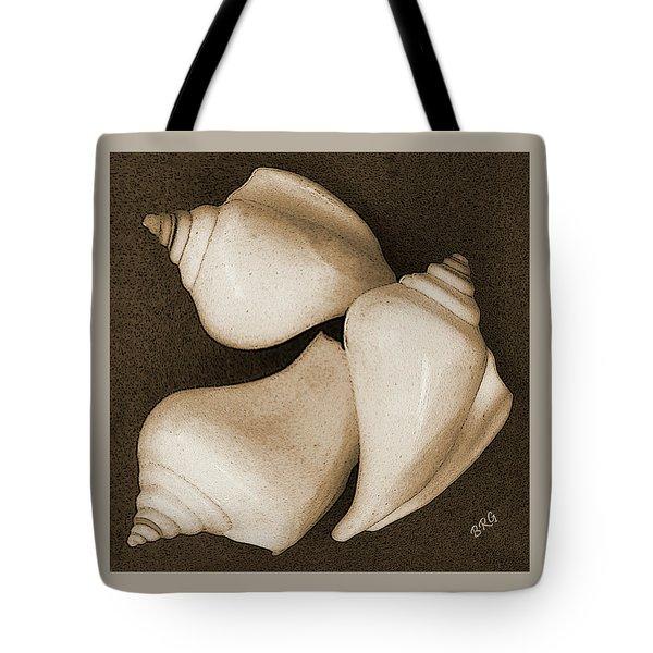 Seashells Spectacular No 4 Tote Bag by Ben and Raisa Gertsberg