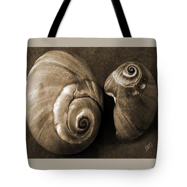 Seashells Spectacular No 6 Tote Bag by Ben and Raisa Gertsberg