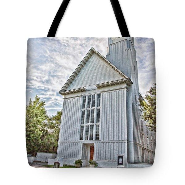 Seaside Chapel Tote Bag by Scott Pellegrin