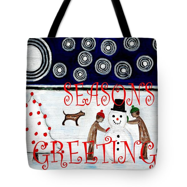 Seasons Greetings 14 Tote Bag by Patrick J Murphy