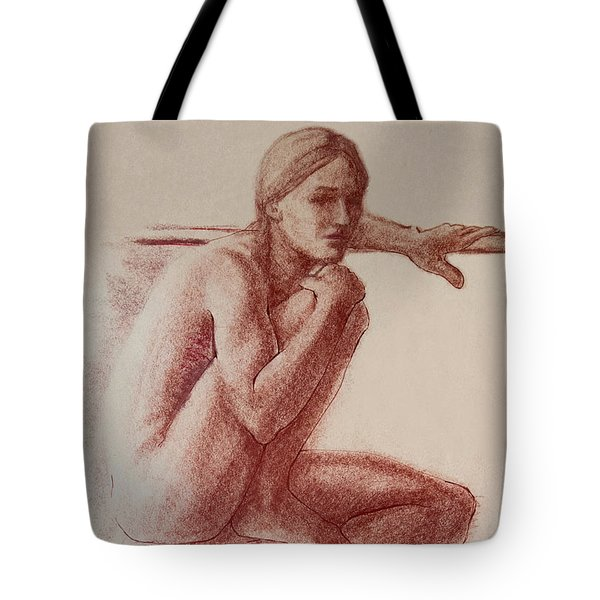 Seated at the Barre Tote Bag by Sarah Parks