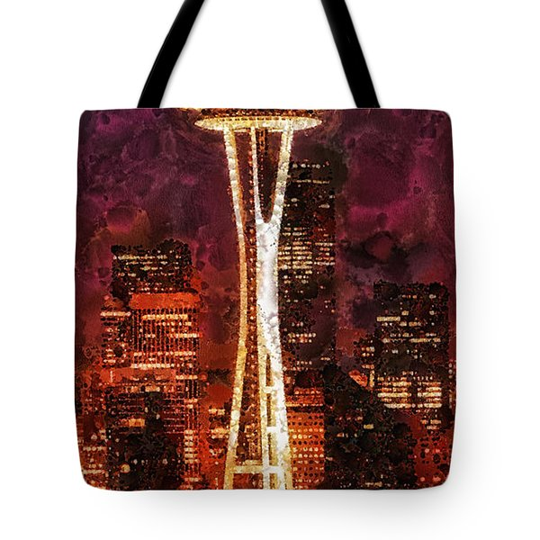 Seattle Tote Bag by Mo T