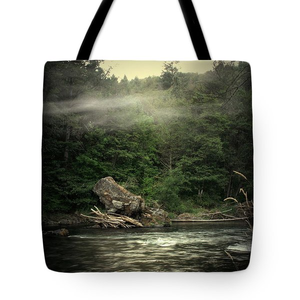 Seclusion On The Trinity Tote Bag by Joyce Dickens