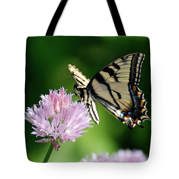 Second Nature Butterfly Tote Bag by Christina Rollo