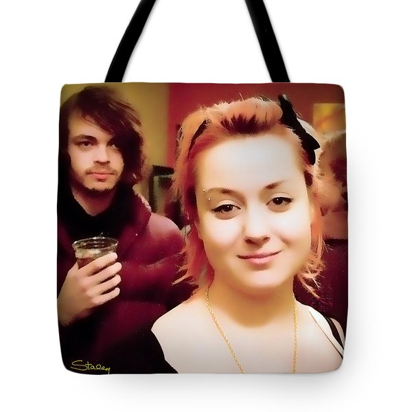 Secret Admirer Tote Bag by Chuck Staley