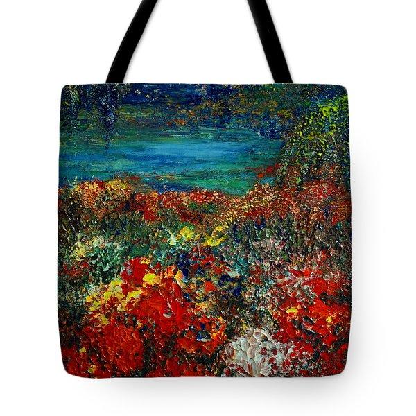 SECRET GARDEN Tote Bag by TERESA WEGRZYN