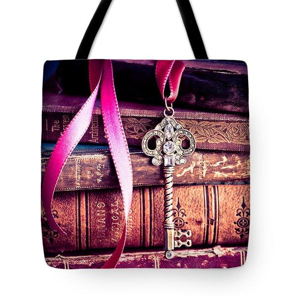 Secret Love Tote Bag by Jan Bickerton
