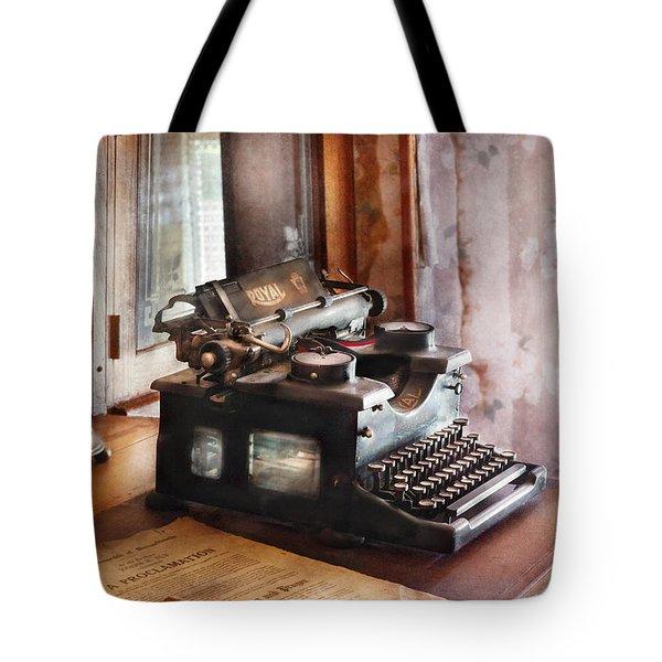 Secretary - Secretaries Day Tote Bag by Mike Savad