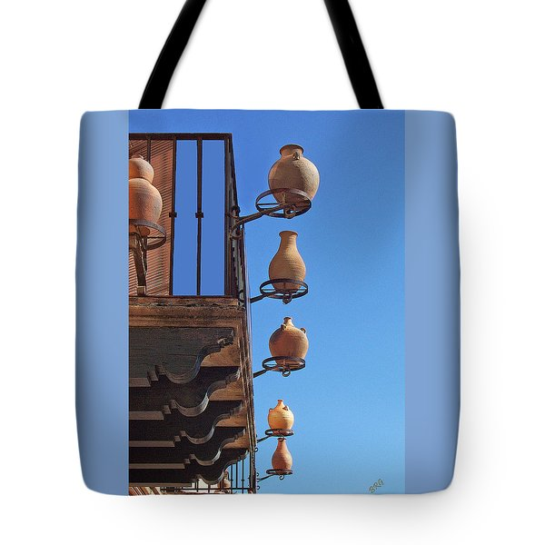 Sedona Jugs Tote Bag by Ben and Raisa Gertsberg