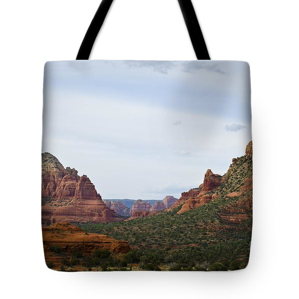 Sedona Landscape IX Tote Bag by David Gordon