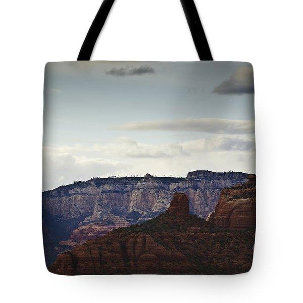 Sedona Landscape Xii Tote Bag by David Gordon