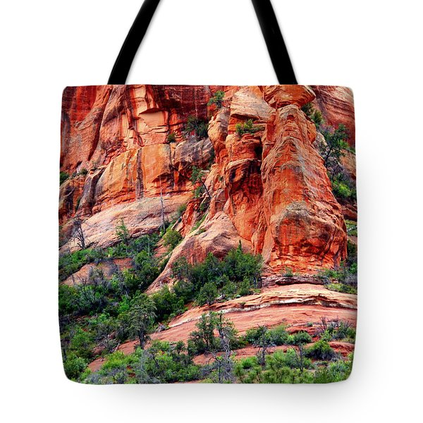 Sedona Perspective Tote Bag by Carol Groenen