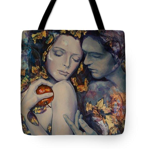 Seduction Tote Bag by Dorina  Costras