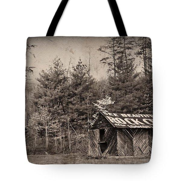 See Rock City  Tote Bag by Debra and Dave Vanderlaan