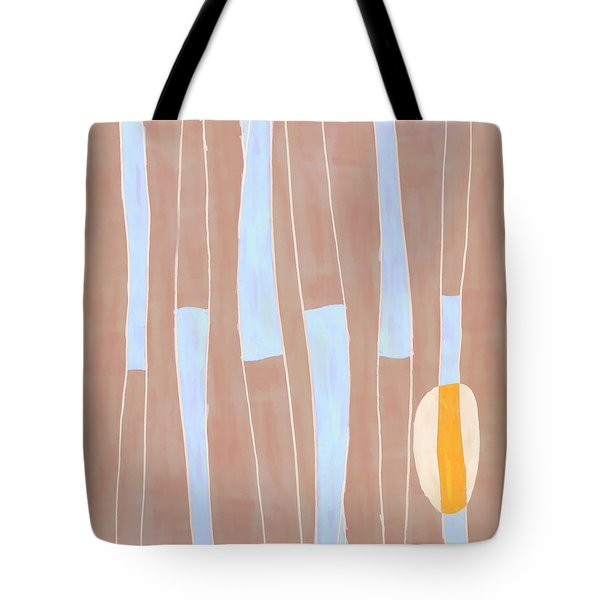 Seed Of Learning No. 3 Tote Bag by Carol Leigh