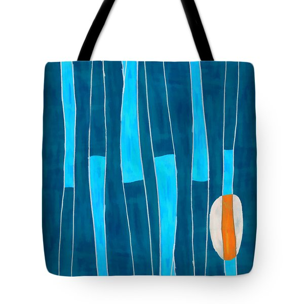 Seed of Learning No. 5 Tote Bag by Carol Leigh