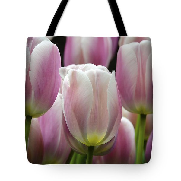 Seeing Pink Tote Bag by Penny Lisowski