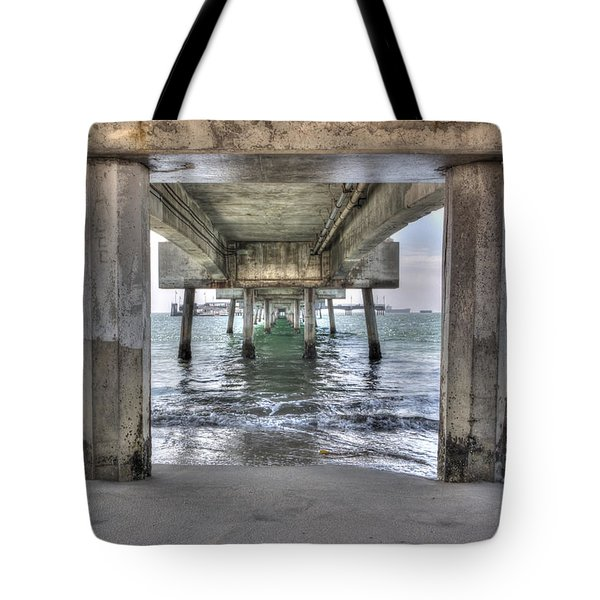 Seeking Shelter From The Sun Tote Bag by Heidi Smith