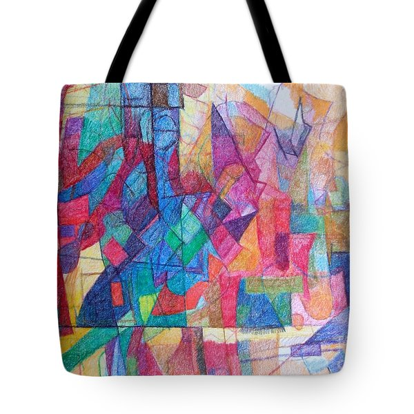 Seeking The Path To The Next World 1 Tote Bag by David Baruch Wolk