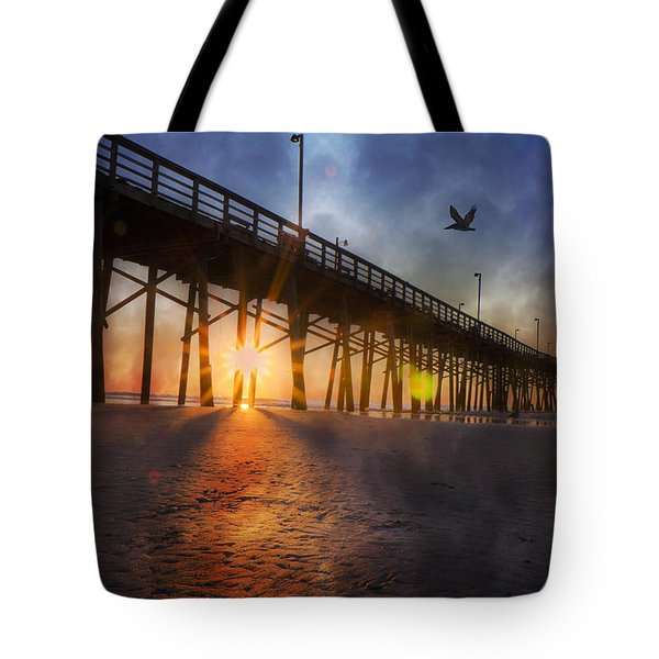 Seize The Day Tote Bag by Betsy A  Cutler