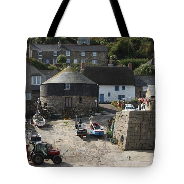 Sennen Cove Tote Bag by Linsey Williams