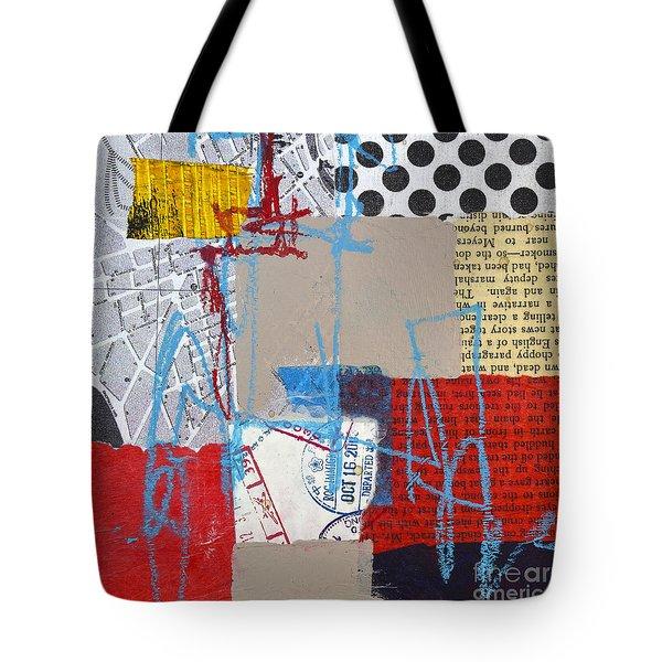 Sentimental Journey Tote Bag by Elena Nosyreva