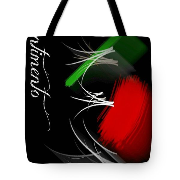Sentimento Tote Bag by Diana Angstadt