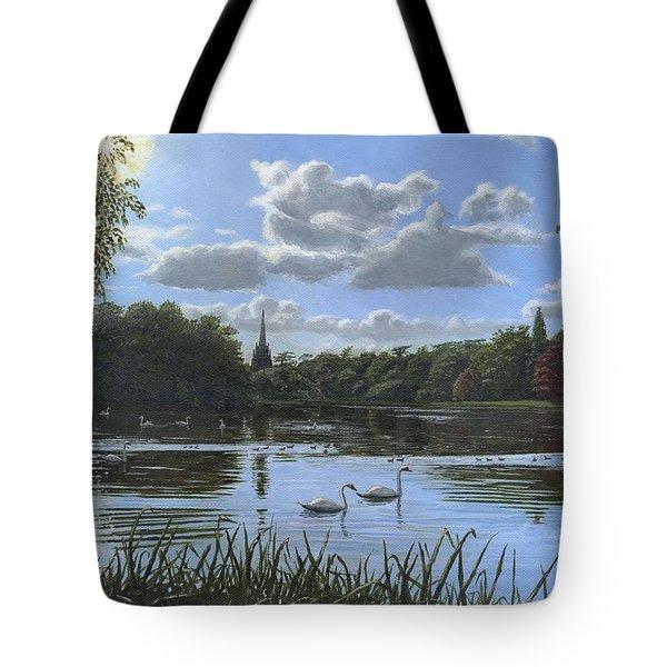 September Afternoon in Clumber Park Tote Bag by Richard Harpum