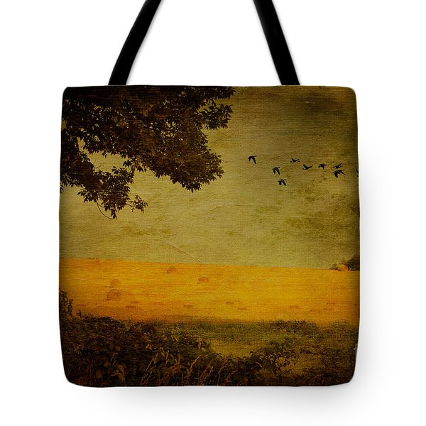September Tote Bag by Lois Bryan