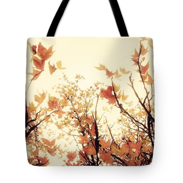 September Song Tote Bag by Amy Tyler