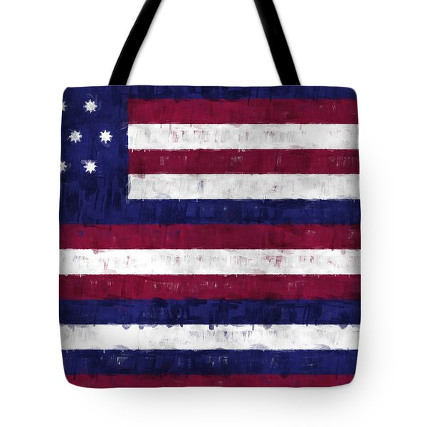 Serapis Flag Tote Bag by World Art Prints And Designs