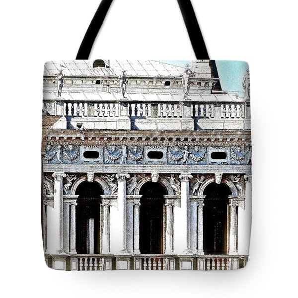 Serenade In Venice Tote Bag by Ira Shander