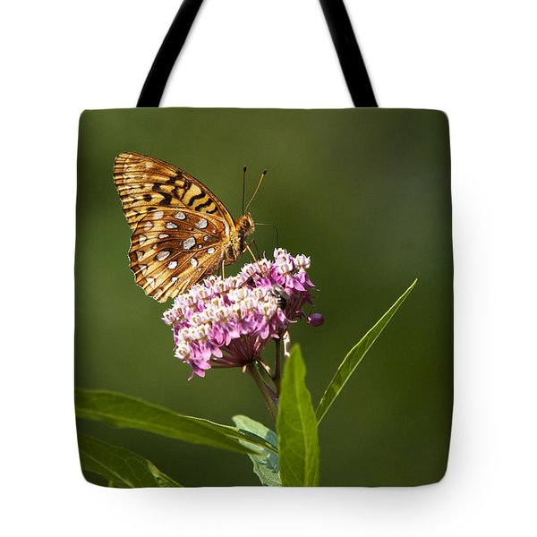 Serendipity Butterfly Tote Bag by Christina Rollo