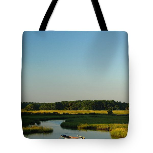 Serene Cape Cod Tote Bag by Juergen Roth