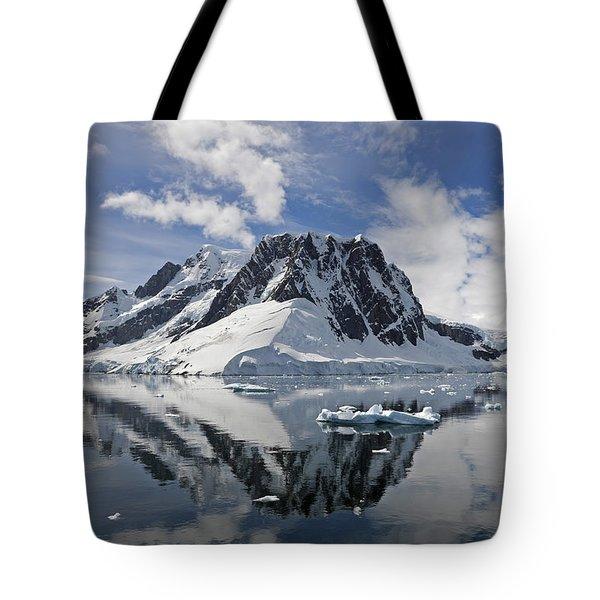 Serene Vista... Tote Bag by Nina Stavlund